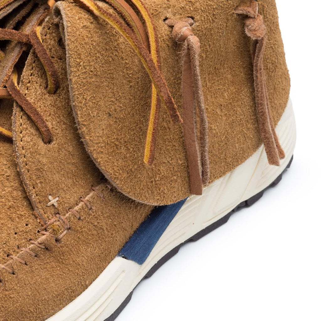 Visvim FBT Prime Brown Detail
