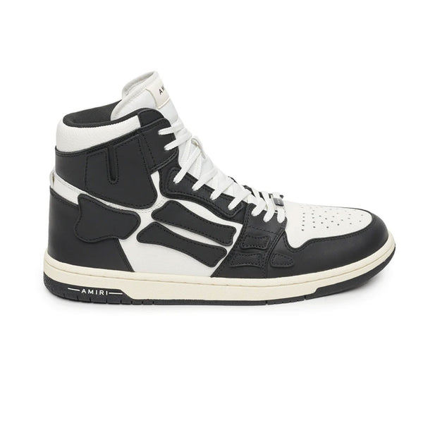 AMIRI SKEL TOP HI (BLACK/WHITE)
