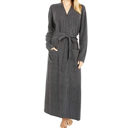 Barefoot Dreams Long CozyChic Lite Ribbed Robe