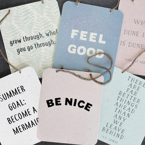 Summertime Hanging Signs