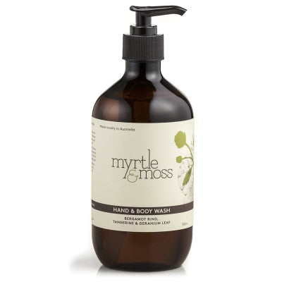 MYRTLE & MOSS HAND & BODY WASH 500ml