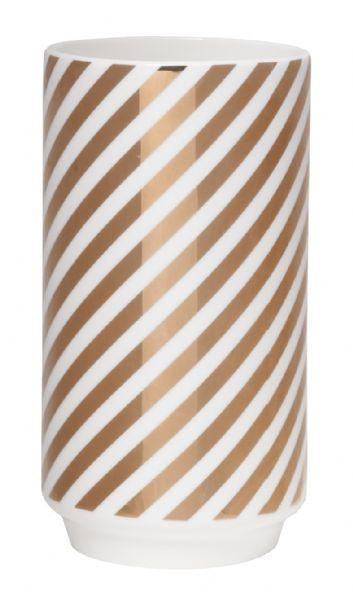 GE GOLD STRIPE VASE
