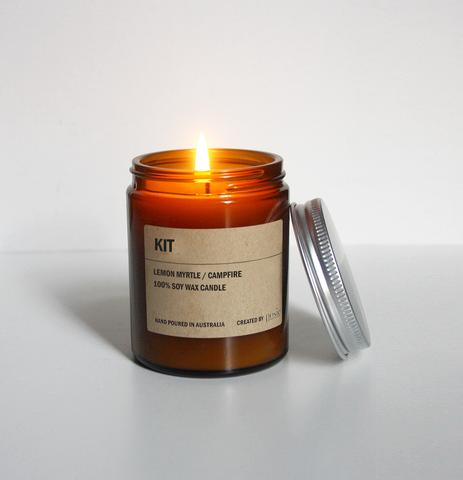 KIT AMBER SOY CANDLE