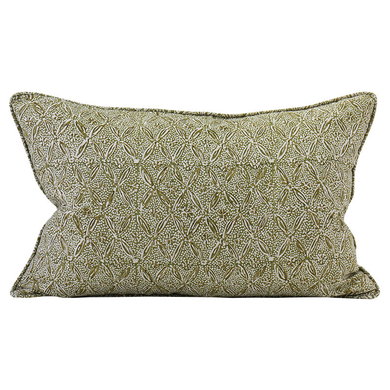 PALLADIO MOSS LINEN CUSHION