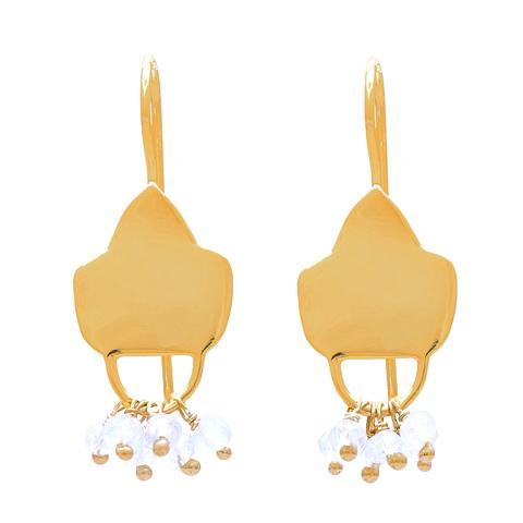 GOLD PLATE AQUAEARRING