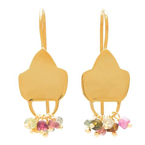 GOLD PLATE MULTI EARRING