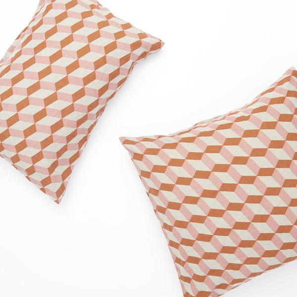 TOBACCO TILES STANDARD PILLOWCASE SET