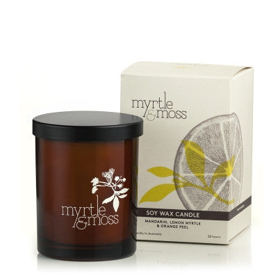 MYRTLE & MOSS SOY CANDLE