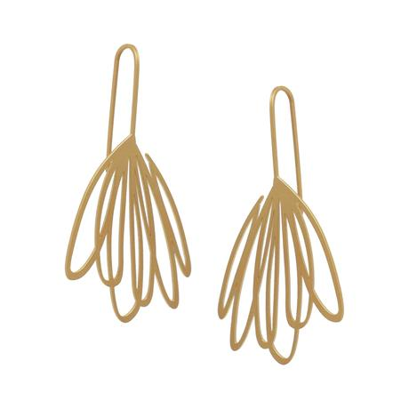 EARRINGS-EBB-22 CT GOLD PLATE