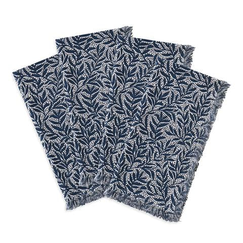 GRANADA INDIGO COTTON NAPKINS (SET OF 4)