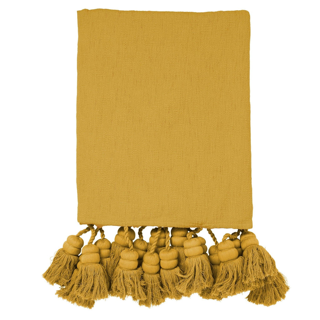 NUGGET TASSEL THROW