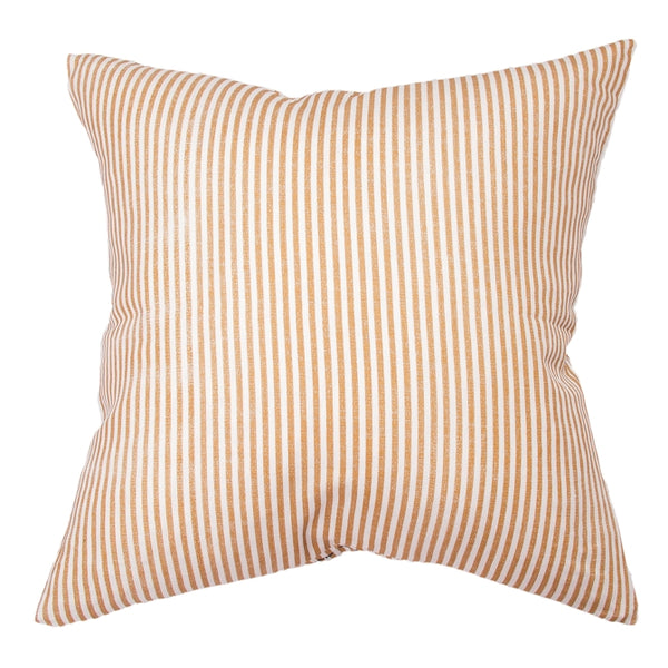 TOFFEE STRIPE LINEN