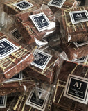 Anthony James Chocolates    Luxury Airline Chocolates & Snacks  Luxury Crunchy Praline