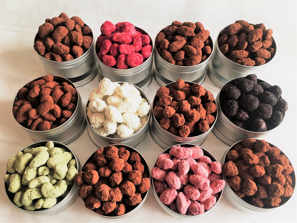 Gourmet Chocolate Covered Nuts - Anthony James Chocolates
