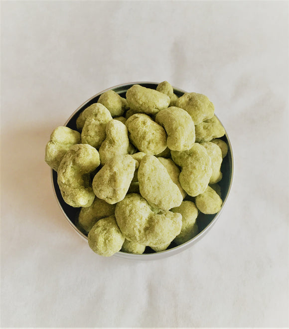 Organic Japanese Matcha & Yuzu Chocolate Covered Cashew 150g