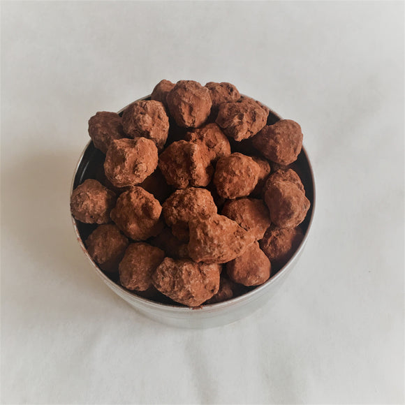 White Truffle Oil Gianduja Covered Hazelnuts 150g