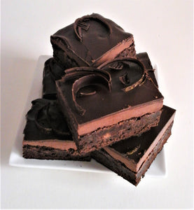 Gourmet Chocolate Mint Truffle Brownie (Large Box 6)