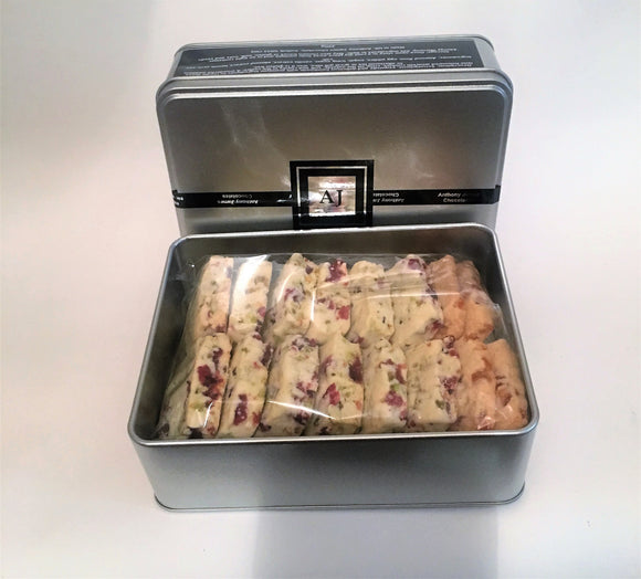 Luxury Pistachio & Cranberry Shortbread   400g