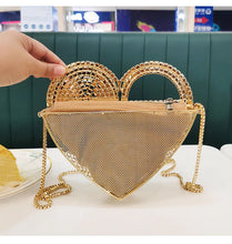 Load image into Gallery viewer, Heart In Your Hand Clutch/Shoulder Bag