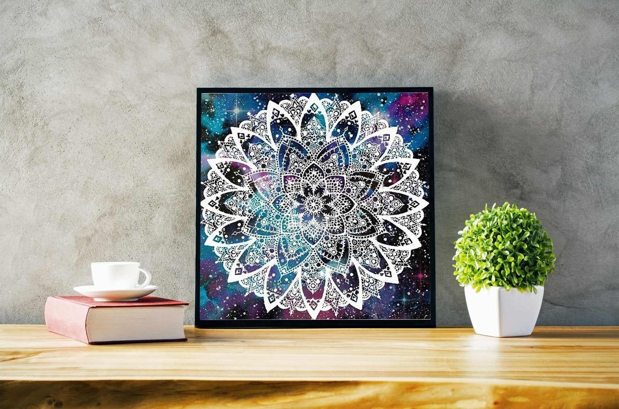 Broderie diamant <br /> Mandala constellation - Diamant Zen