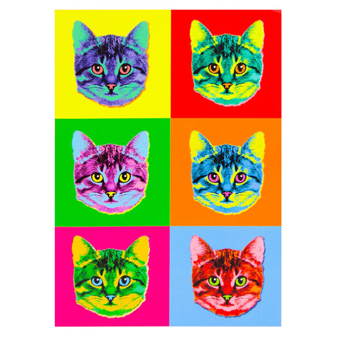 Andy Warhol Inspired Cat Journal