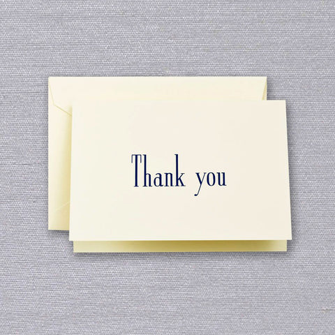 Bold Thank You Note by Crane