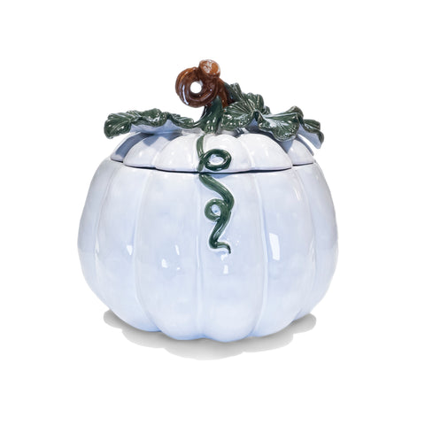 Ceramic Pumpkin Cookie Jar Cannister