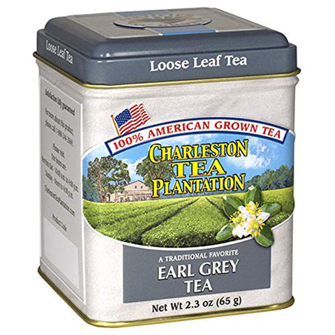 Charleston Tea Company - Earl Grey Loose Tea Tin