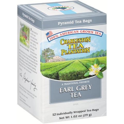 Charleston Tea Earl Grey - pyramid bags