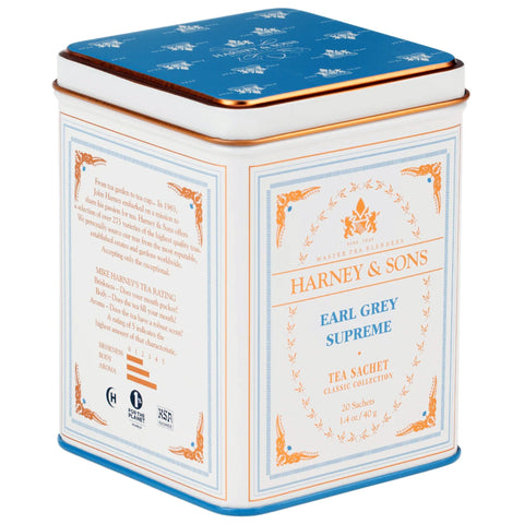 Harney and Sons Tea Sachet - Earl Grey Supreme