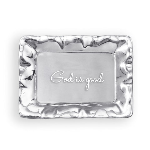 God is Good Trinket Tray by Beatriz Ball