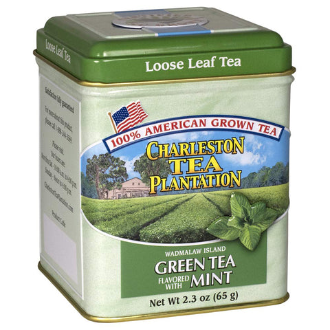 Charleston Tea Company - Green Tea with Mint Loose Tin