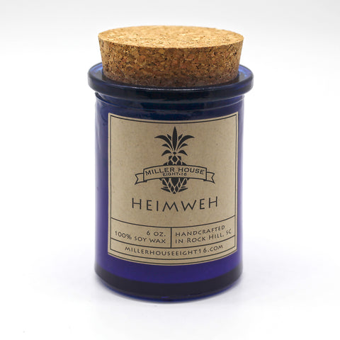 Scented Candle by Miller House Eight16 - Heimweh