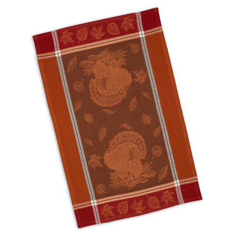 Harvest Feast Jacquard Kitchen Towel