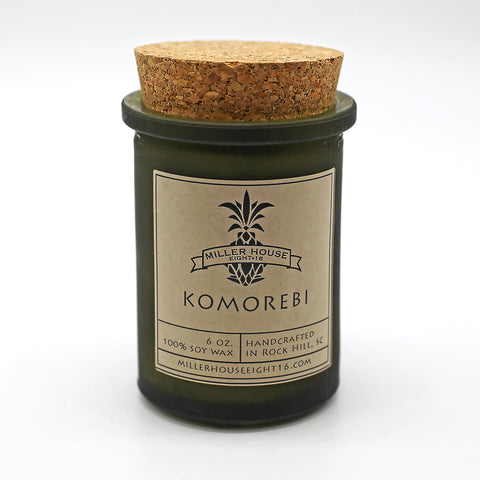 Scented Candle by Miller House Eight16 - Komorebi