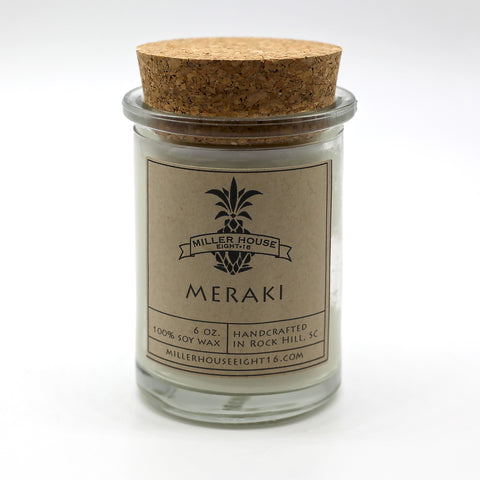 Scented Candle by Miller House Eight16 - Meraki