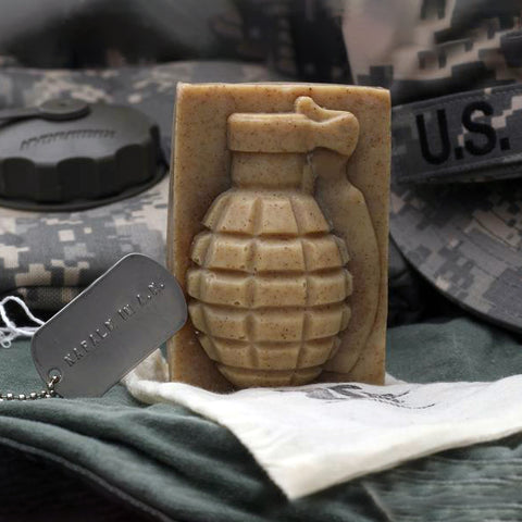 Grenade Soap by K Bar - Napalm in the Morning