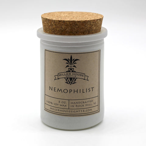 Scented Candle by Miller House Eight16 - Nemophilist