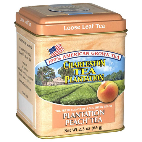 Charleston Tea Company - Peach Loose Tea Tin