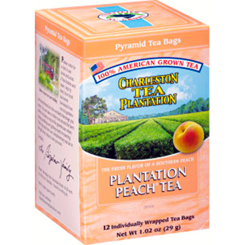 Charleston Tea Peach - pyramid bags