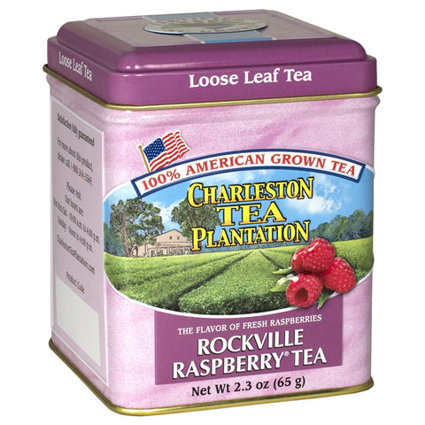 Charleston Tea Company - Rockville Raspberry Loose Tea Tin