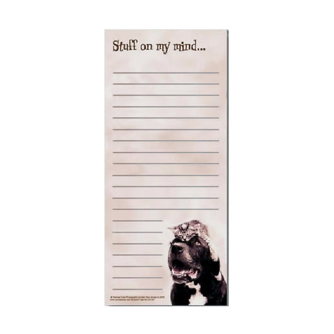 Note Pad for Pet Lovers - Stuff on My Mind