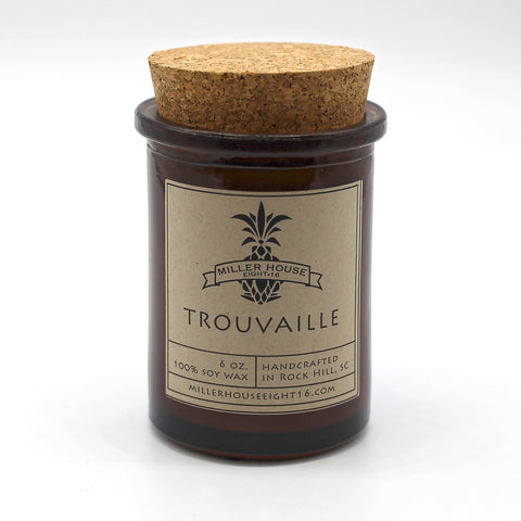 Scented Candle by Miller House Eight16 - Trouvaille