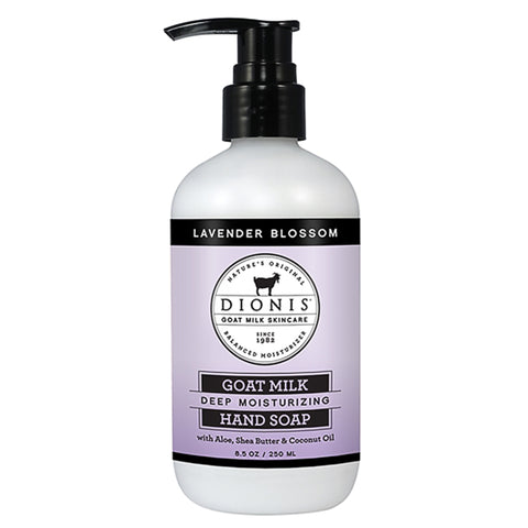 Dionis Goat Milk Hand Soap - Lavender Blossom