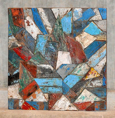 Patchwork Triangle Panels 32x32