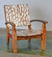 Max Chair w/ Carving