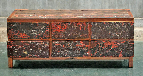 6 Drawer Horizontal with Barnacles - #101