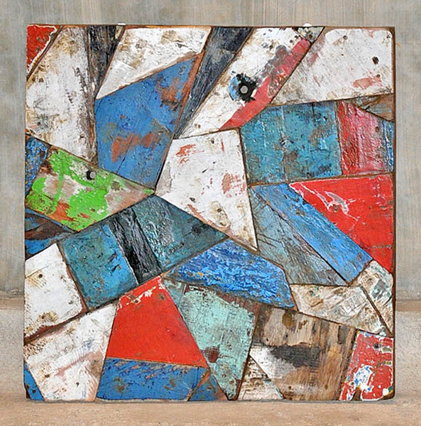 PATCHWORK TRIANGLE PANEL 24x24 - #108