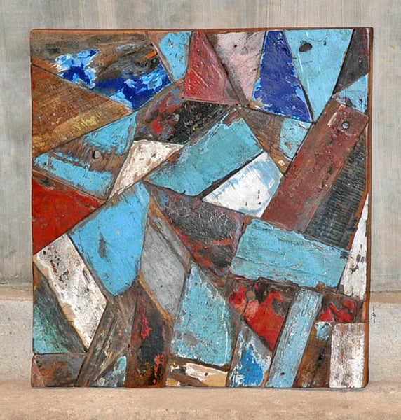 PATCHWORK TRIANGLE PANEL 24x24 - #109