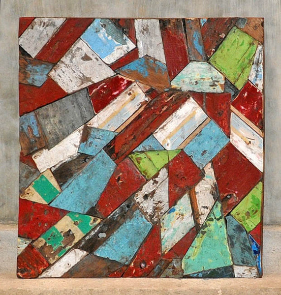 PATCHWORK TRIANGLE PANEL 32x32 - #109